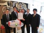 v.l.n.r. Keji Ishimura, Hiroyuki Murakami, Thomas Köhler, Toshiyuki Yasuda, Shunsuke Takahashi.