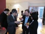 Im Gespräch mit Hiroshi Hayakawa und Kyoko Miyajima von NTA.
