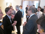 Begrüssung mit dem Commissioner Hiroshi Mizohata.
