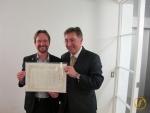 Foto mit dem Botschafter Urs Bucher.