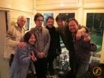 Nach zu Fuss durch Japan, private Feier in Tokyo mit Jan & Stefan Knüsel, Kachun und vielen anderen Leuten....